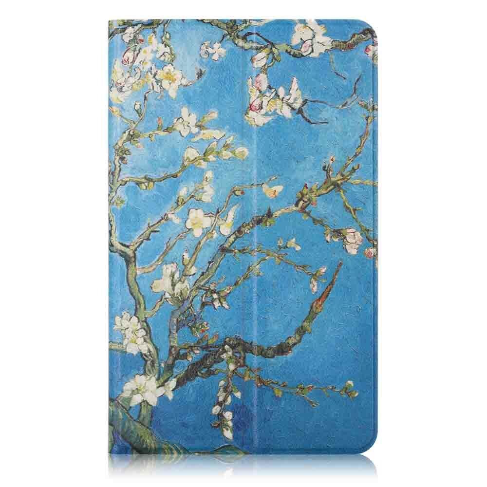 8 Inç Xiaomi Mipad 4 Için Kayısı çiçek Boyama Tablet Kılıf Satış