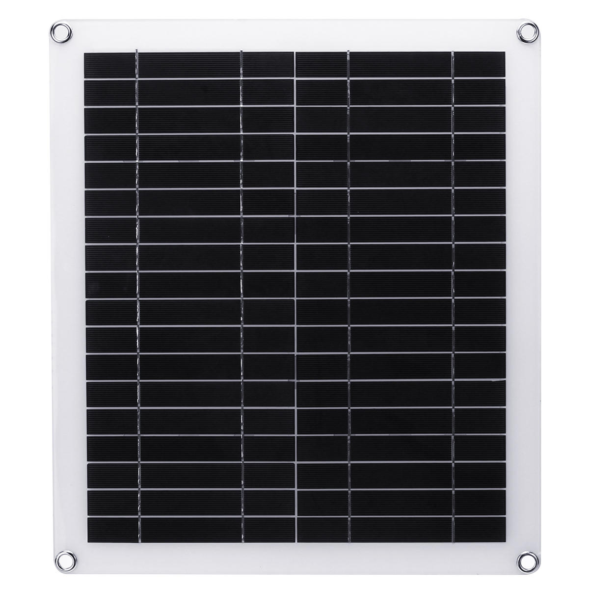 20W Portable Solar Panel Kit Dual USB Polycrystalline Silicon Cell Solar Panel