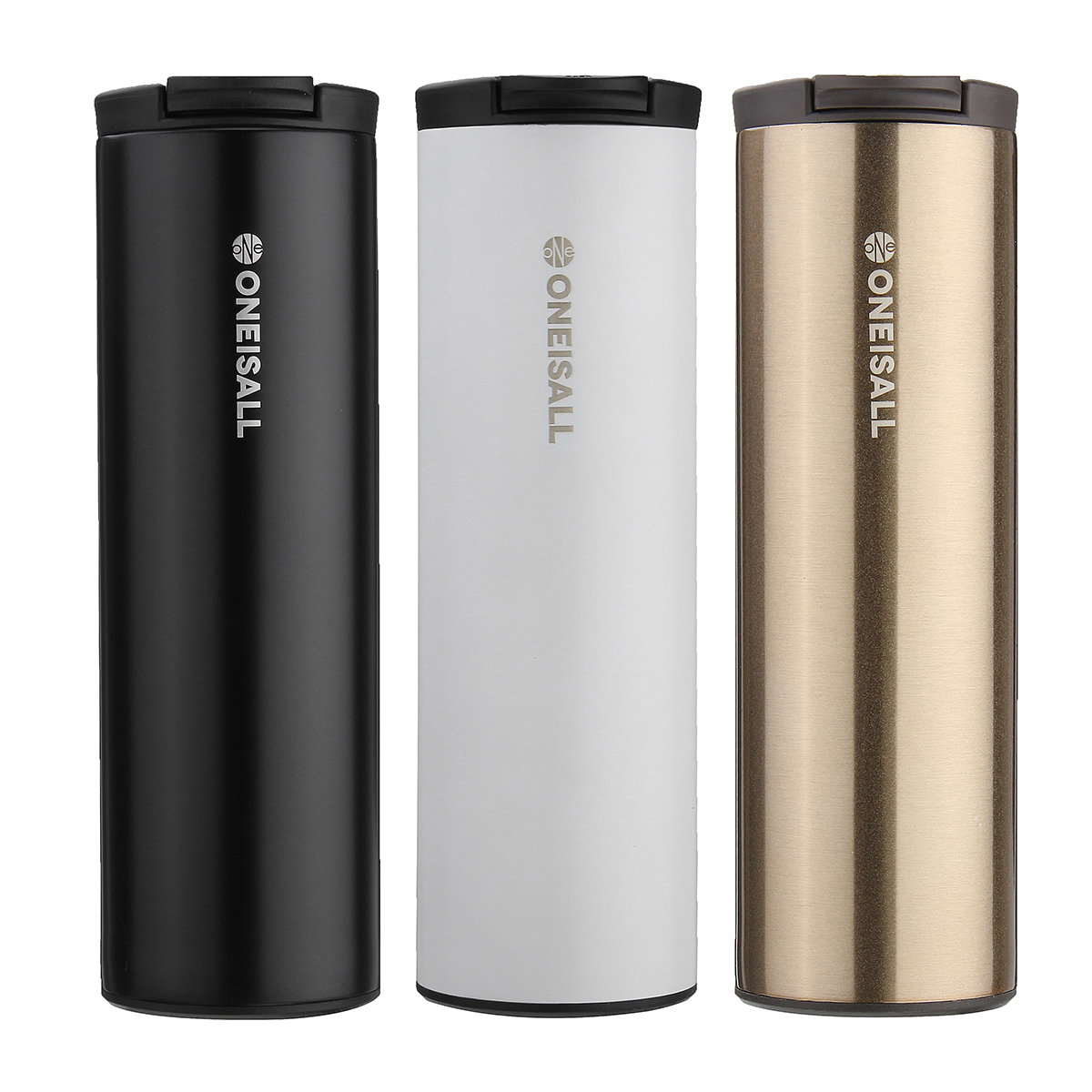 Outdoor Camping Portable Vacuum Coffee Bottle Stainless Thermos Flask Travel Supply