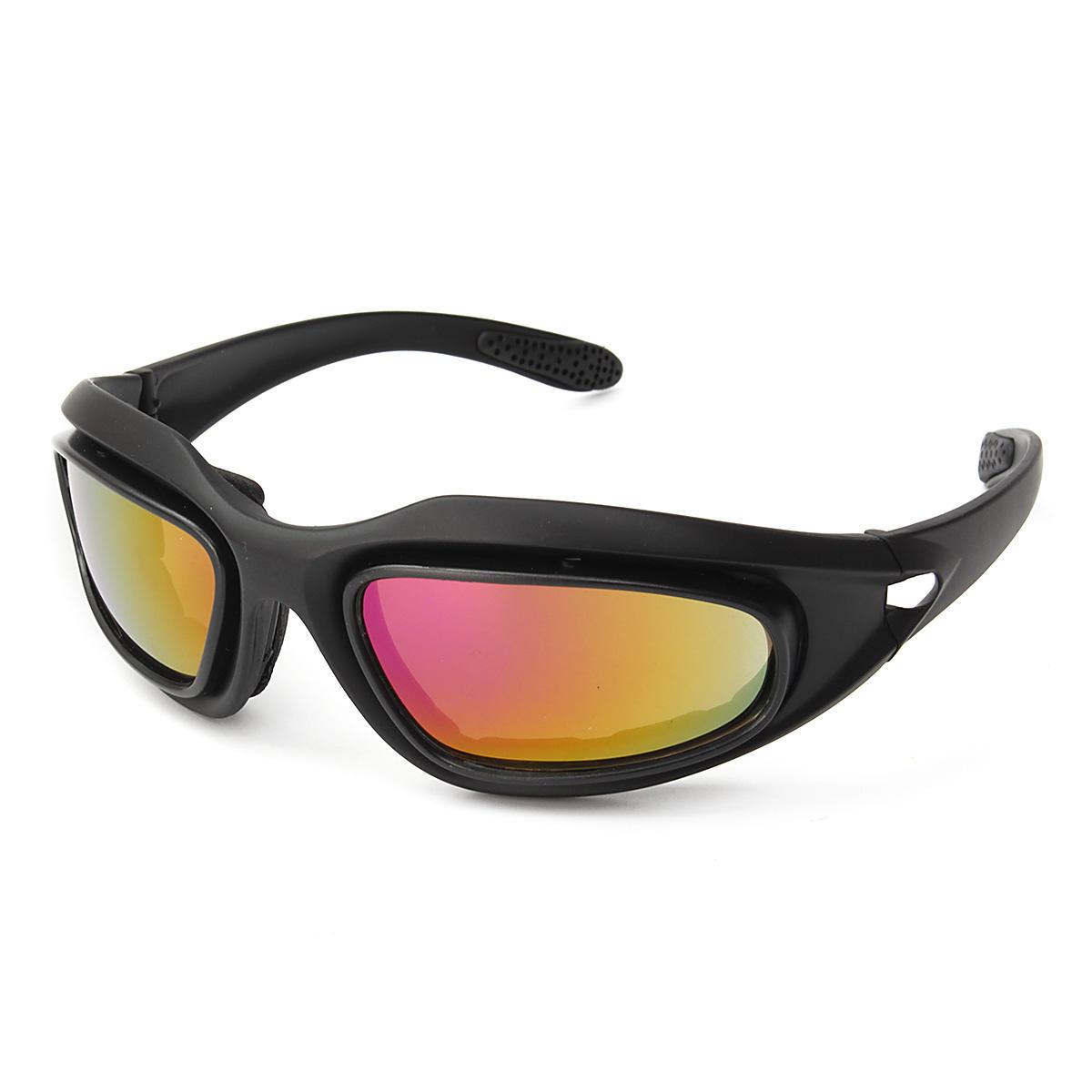 dc0b8eb38 Homens Mulheres UV400 Óculos De Sol Da Motocicleta De Condução Óculos Óculos  De Equitação Esportes Com