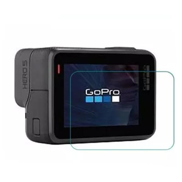 Proteggi LCD schermo della fotocamera pellicola protettiva per accessori Gopro Hero 5 con il panno di pulizia