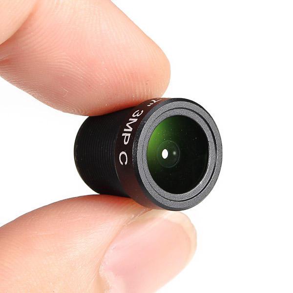 2.8мм 3MP 1 / 2.7 m12 115 градусов IR объектив камеры чувствительны FPV
