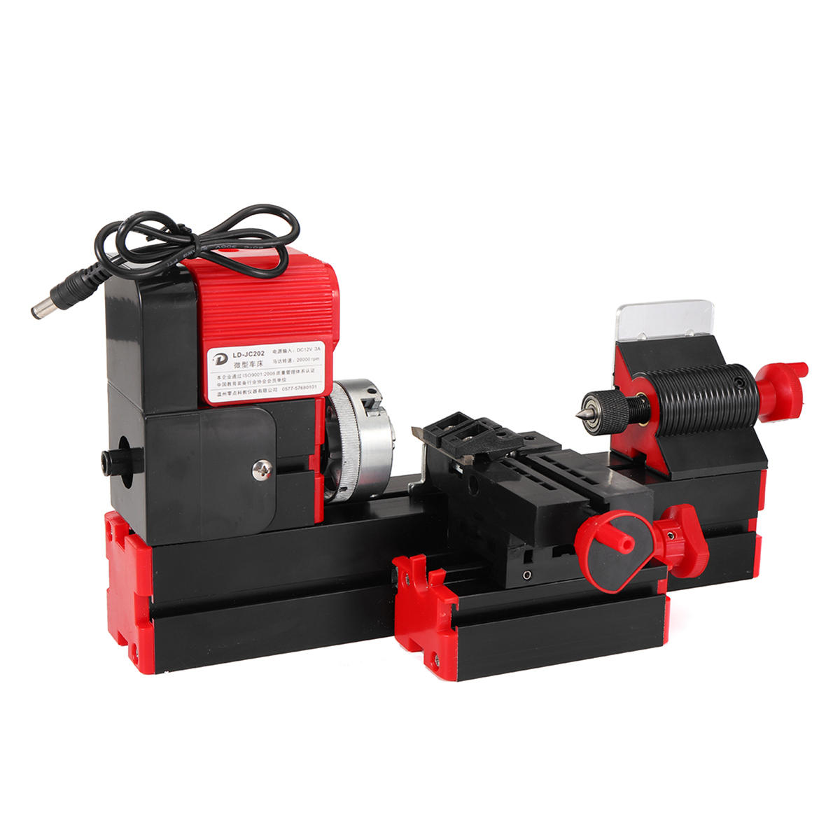 Dc12v 3a 36w Mini Lathe Milling Machine Bench Drill Diy Woodworking