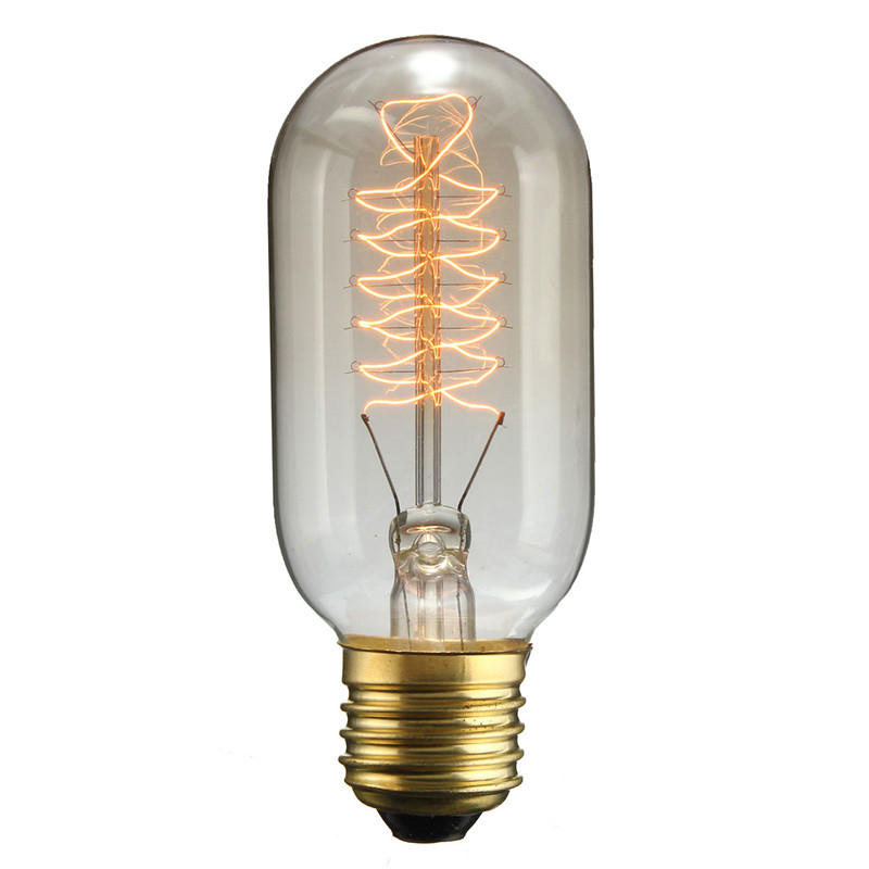 T45 E27 30w 220v 120lm Incandescent Bulb Retro Edison Light Bulbs Cod