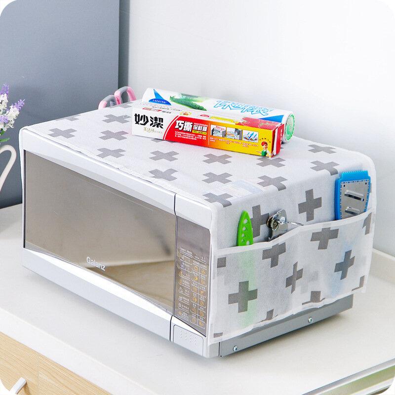 Honana HN-DC001 전자 레인지 먼지 커버 방진 보관 가방 주최자 잡화 가정 용품 전자 레인지 타올
