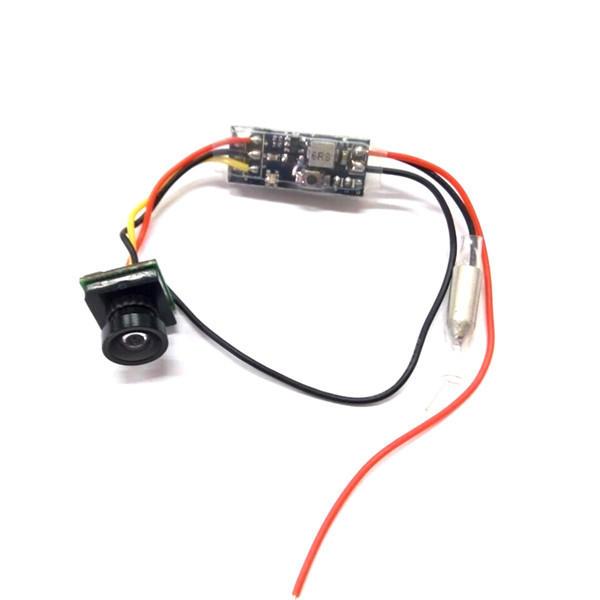 Kingkong LDARC Q25 5.8G 16CH 25mW VTX & 800TVL FOV 150 ° minicamera voor 90GT ET100 RC Drone