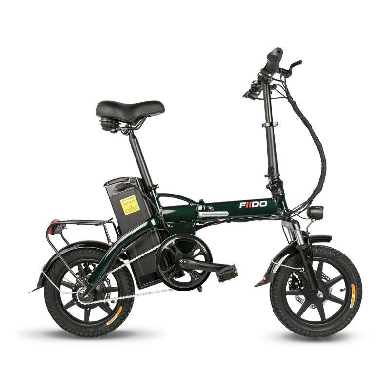 c56efd91fa570 FIIDO L1 48V 250W 23.4Ah 14 pouces pliant cyclomoteur vélo 25km / h vélo  électrique