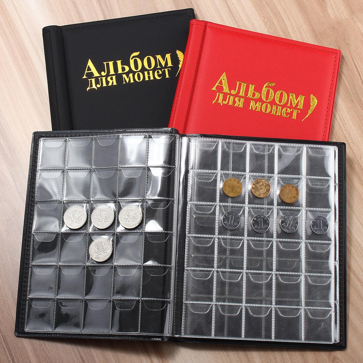 250 pièces titulaire collection de stockage de collecte d'argent Penny Pockets Album de livre livre cadeaux