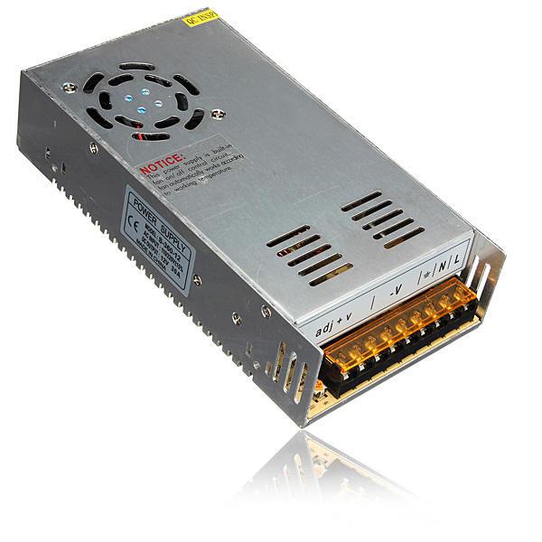 AC110V-220V to DC12V 30A 360W Switch Car Power Supply Driver Transformer for LED Strip Light