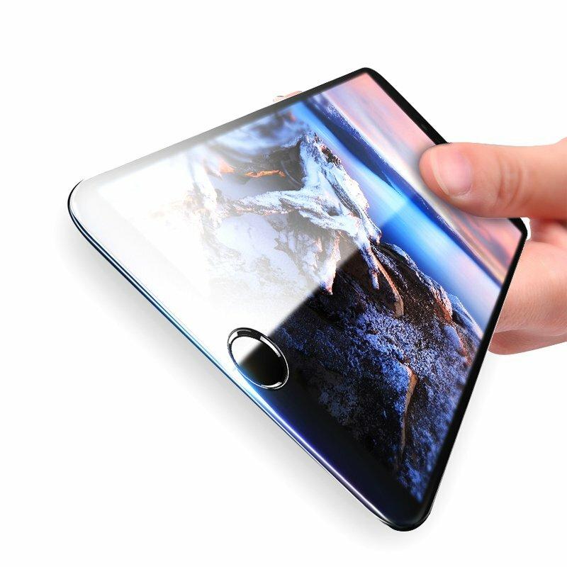 Bakeey 3D Soft Protezione per schermo in vetro temperato in fibra di carbonio Edge per iPhone 8 Plus