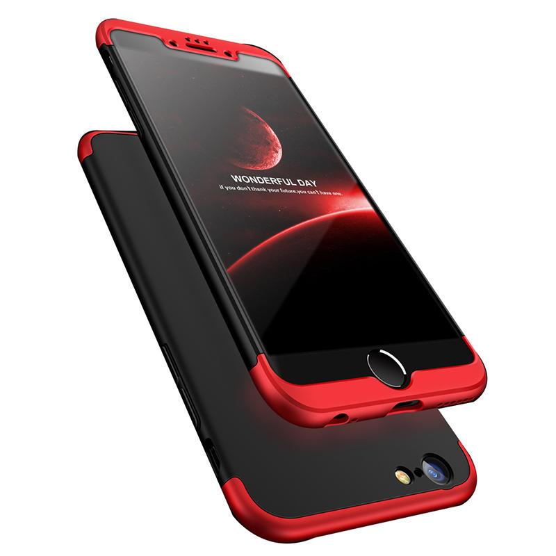 Bakeey ™ 3-in-1 Double Dip 360 ° Volledige bescherming PC-hoes voor iPhone 6/6s 6plus / 6sPlus