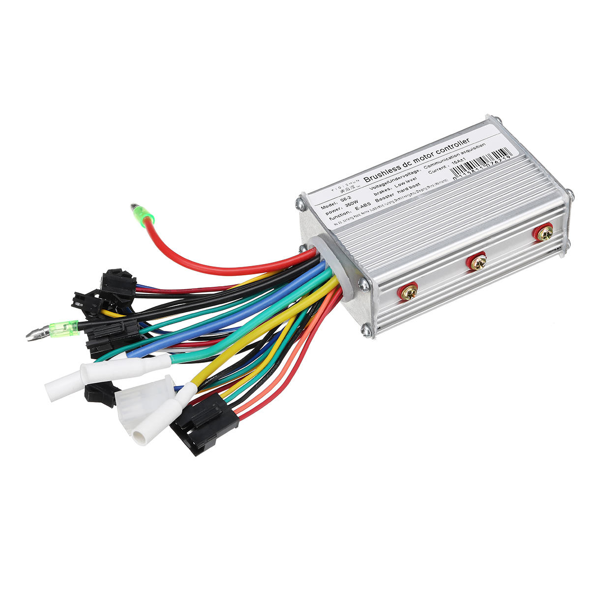 24v 48v 350w Brushless Motor Controller With Lcd Display For Scooter Wiring Diagram Bldc 600x600