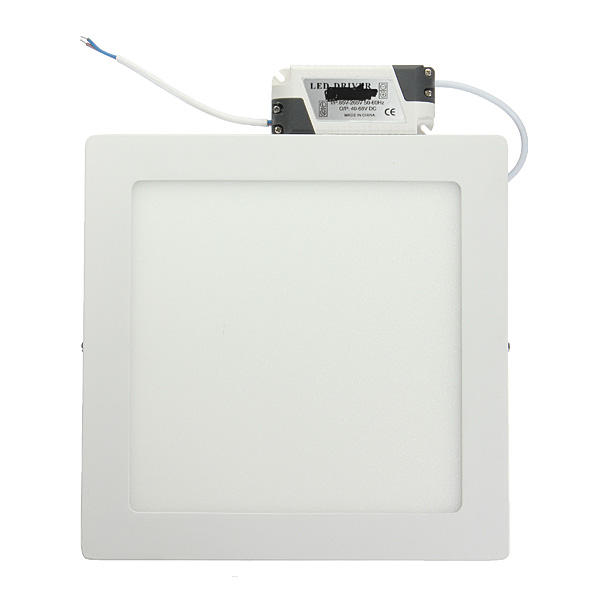 Dimmable 21W Square LED Panel Ceiling Down Light Lamp AC 85-265V