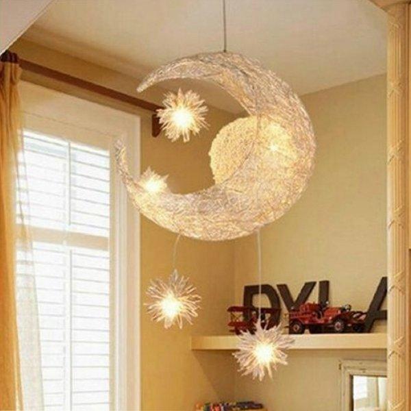 mond & stern bonbon kind schlafzimmer leuchter hängende lampen ...