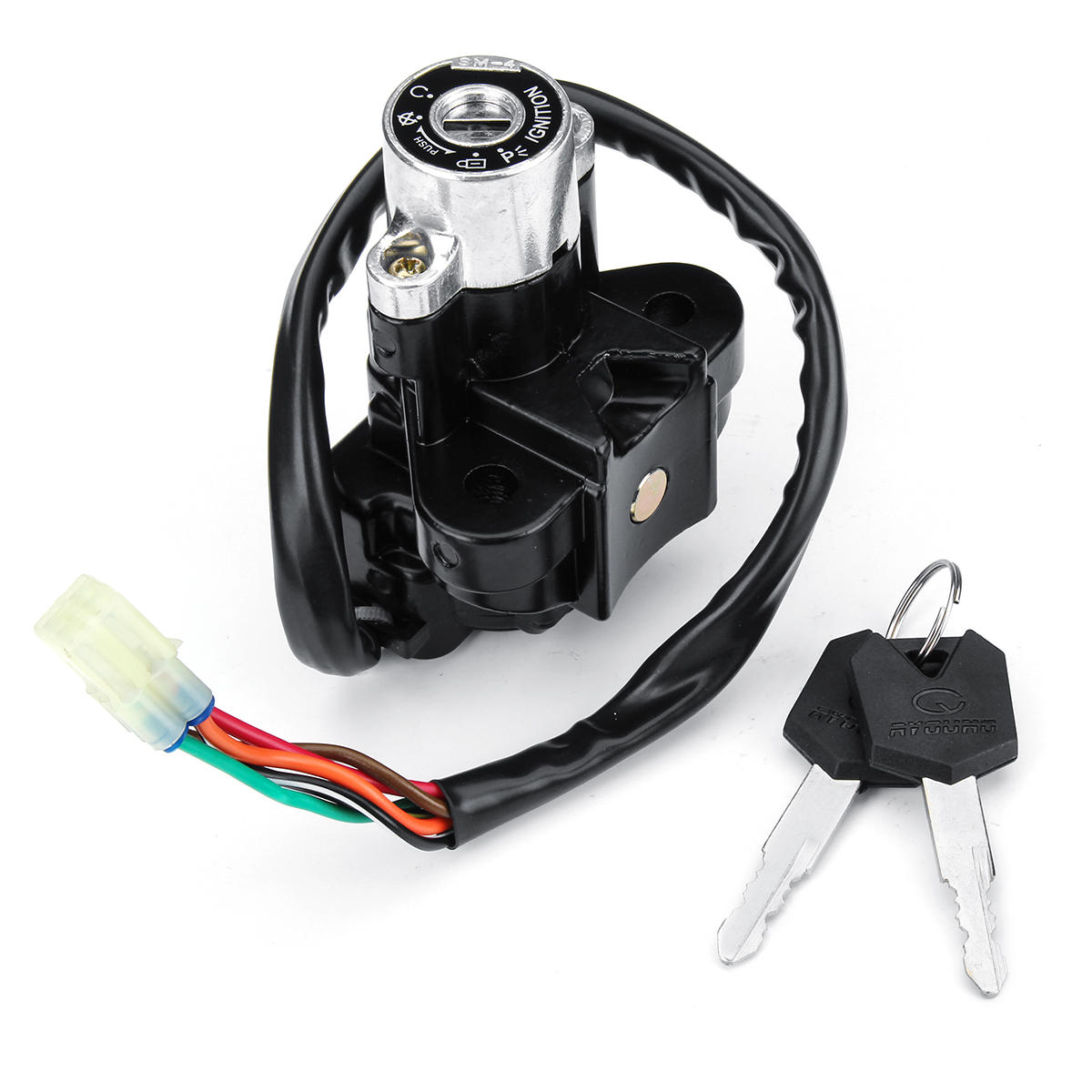 Gz250 Ignition Wiring Great Design Of Diagram Ford Harness Starter Switch Lock With Keys For Suzuki Gz125 Gsf600 Rh Banggood Com Chevy
