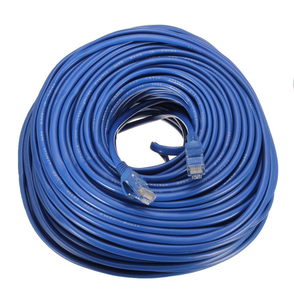 Admirable 50M Cat5 Cat5E Rj45 Ethernet Lan Network Cable Line 10Mbps 100Mbps Wiring Digital Resources Operbouhousnl