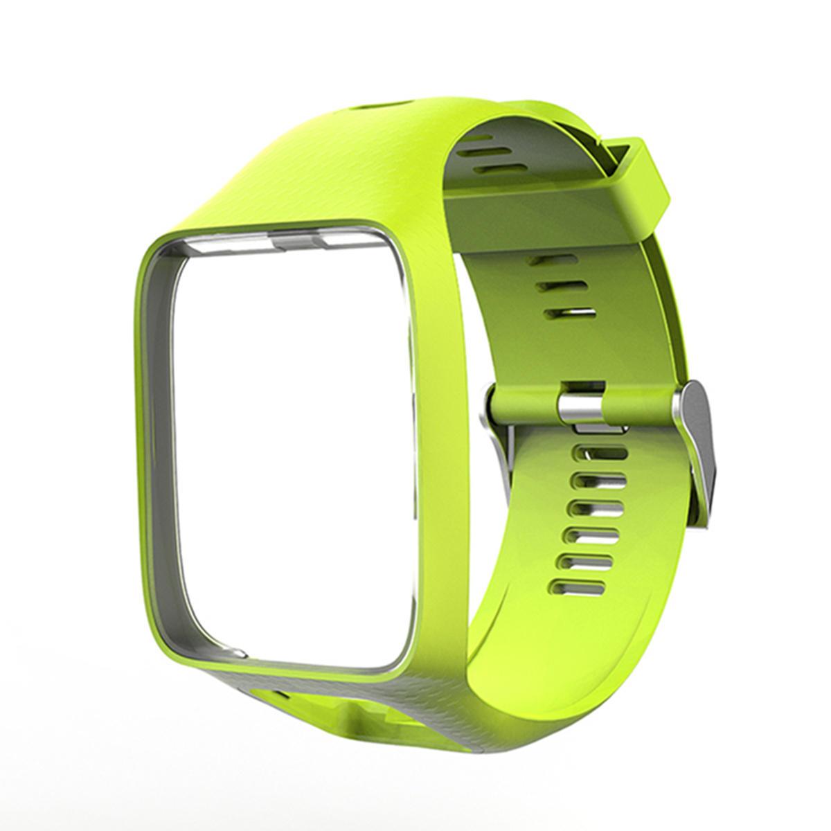 Montre en silicone, remplacement du bracelet Bande pour TomTom Runner 2 & 3 / Golfer 2/Spark 3