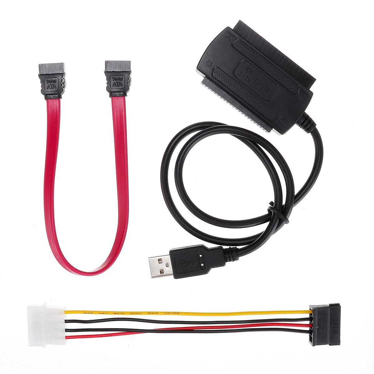 SATA / PATA / IDE для USB 2.0 Кабель конвертера адаптера для жесткого диска 2,5