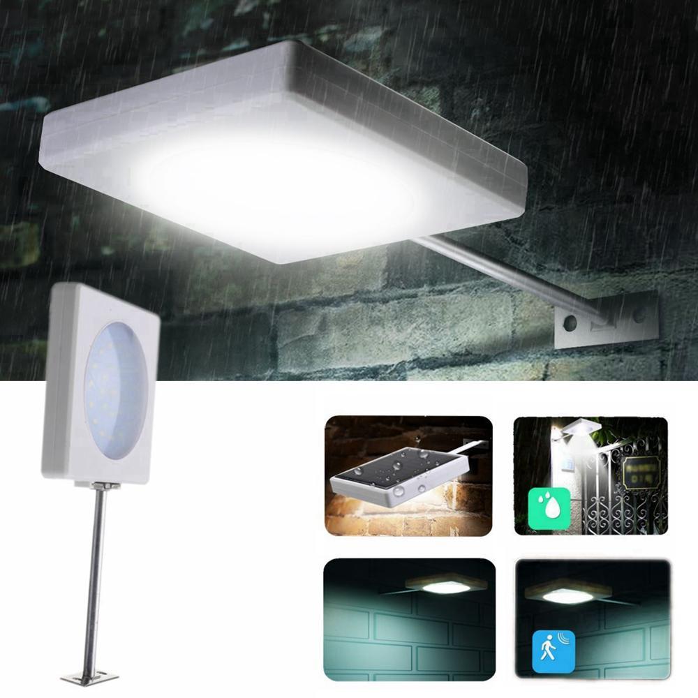 5w Led Solar Light Control Wall Waterproof Street Outdoor Lamp Garden Cod