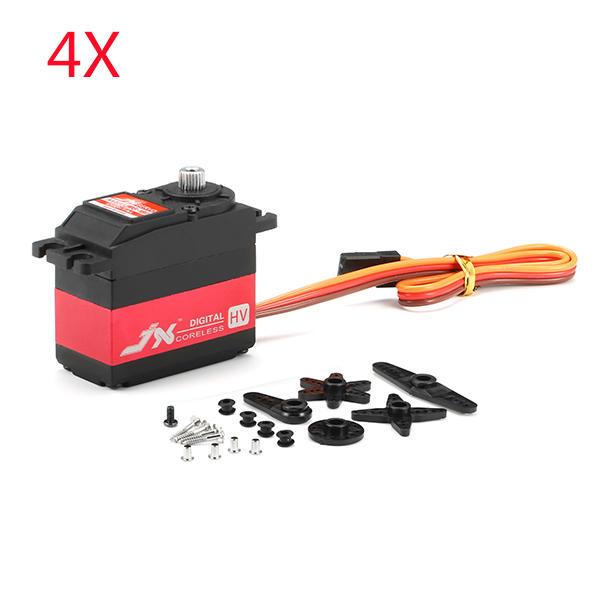 4X JX Servo PDI-HV5932MG 30KG Grote Draaimoment 180 ° High Voltage Digital Servo