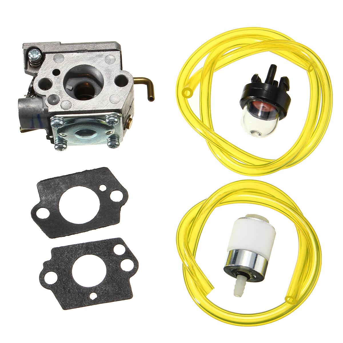 Carburetor Primer Bulb Gaskets Filter para Walbro WT-682-1 WT-682 Troy-bilt TB65SS Trimmr MTD Ryobi