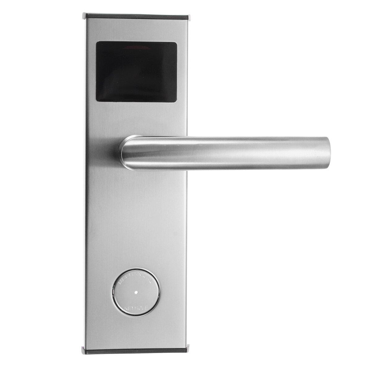 Système intelligent de serrure de porte d'hôtel de clé de carte numérique de serrure de l'acier inoxydable RFID