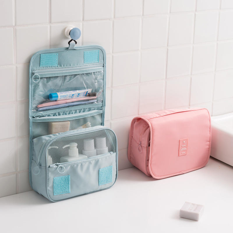 Hanging Toiletry Bag Travel Organizer Cosmetic Wash Make Up Case For Women Men Kit