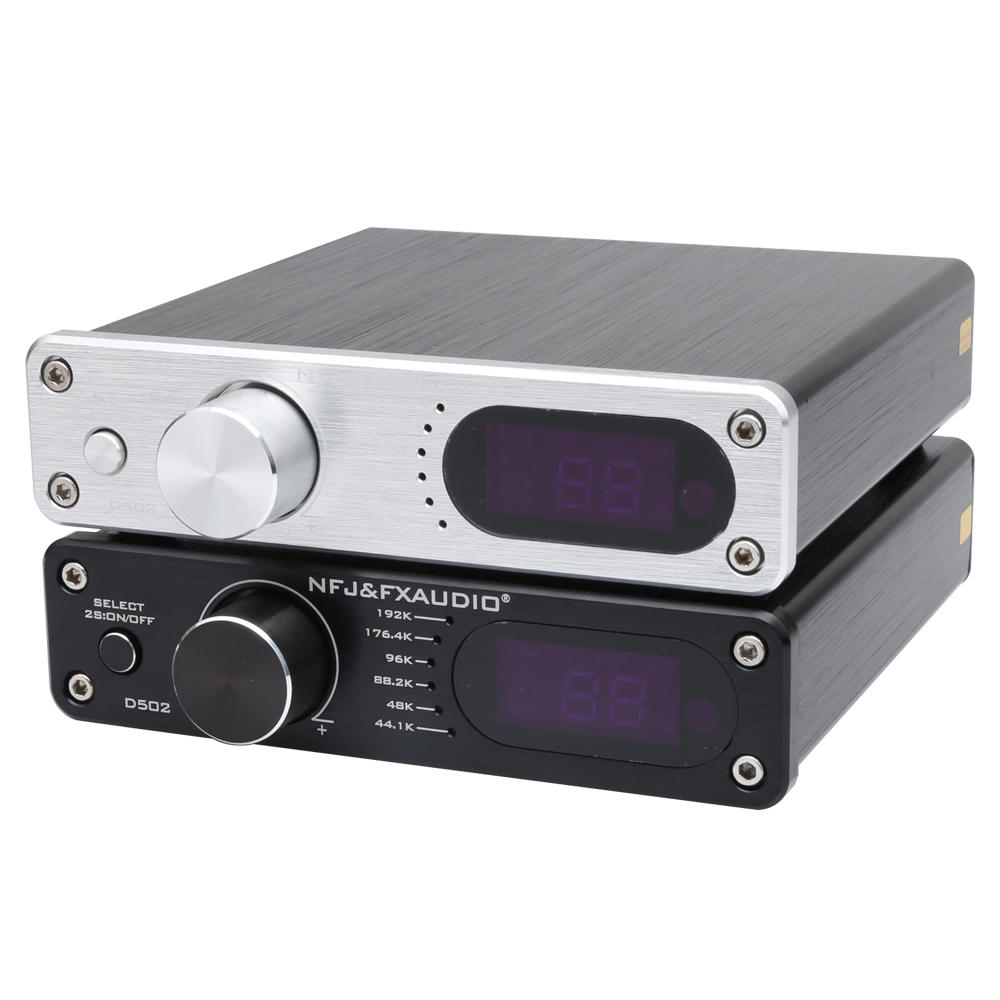FX-AUDIO D502 HIFI Micro USB Pure Digital Amplifier 2.1 Subwoofer Integrated Home Decoding Amplifier SA9023 CS8422 TAS5508