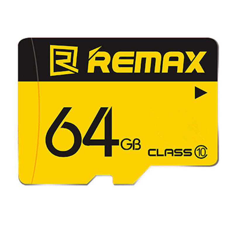 Remax Original 64GB TF Card Class10 High-speed Flash Data Storage Memory Card for Mobile Phone