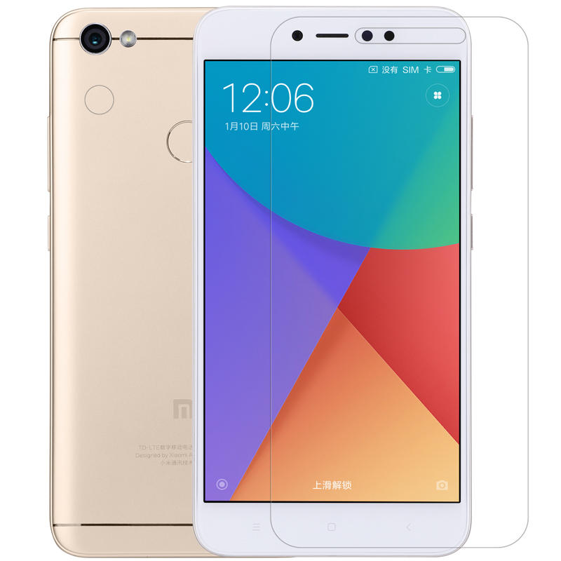 Nillkin Matte Anti-Fingerprint Screen+Lens Protector For Xiaomi Redmi Note 5A Prime/Redmi Y1 COD