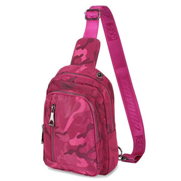 النساء حقائب السفر التمويه الصدر ث 4TH عارضة حقائب الكتف في الهواء الطلق حقائب كروسبودي