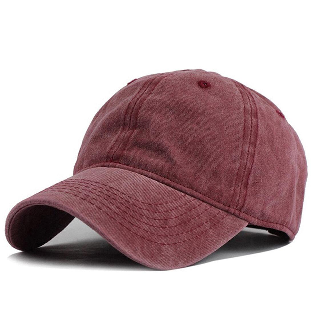 731f39d0abb Mens Summer Adjustable Washed Denim Baseball Caps Outdoor Trucker Cap Dad  Hats COD