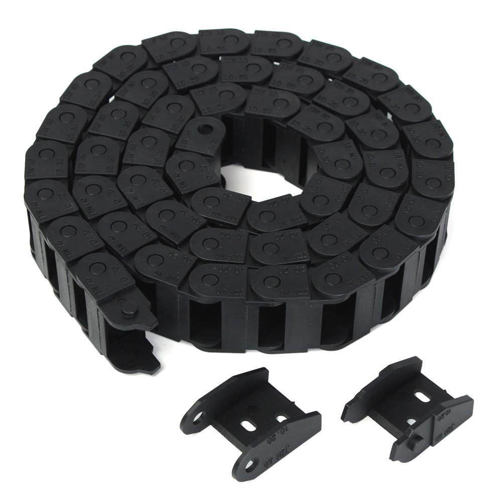 10x20 мм R28 1000 мм Цепь для перетаскивания кабеля Провод Перевозчик
