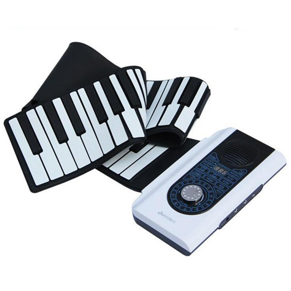 iword 88 key professional roll up piano with midi keyboard Sale - Banggood.com