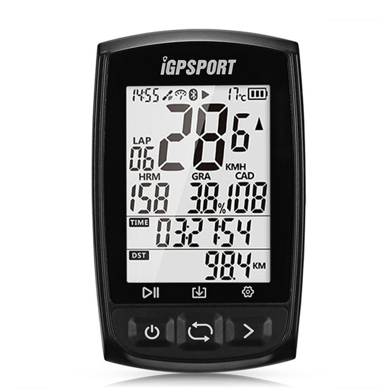 IGPSPORT IGS50E bluetooth 4.0 Wireless Bike Computer GPS ANT+ IPX7 Waterproof Cycling Speedometer