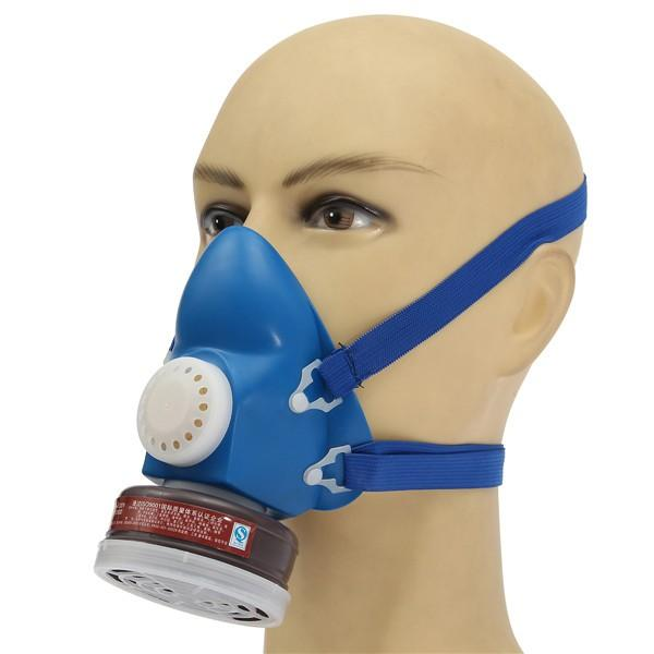 Intelligent N3800 Anti-dust Facepiece Filter Paint Spraying Cartridge Respirator Gas Mask Easy To Lubricate Fire Protection