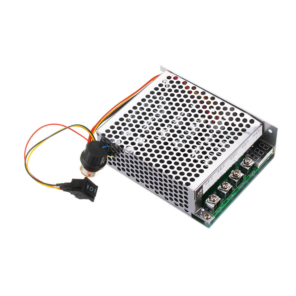 DC 10-55V 100A Motor Speed Controller Reversible PWM Control Forward//Reverse