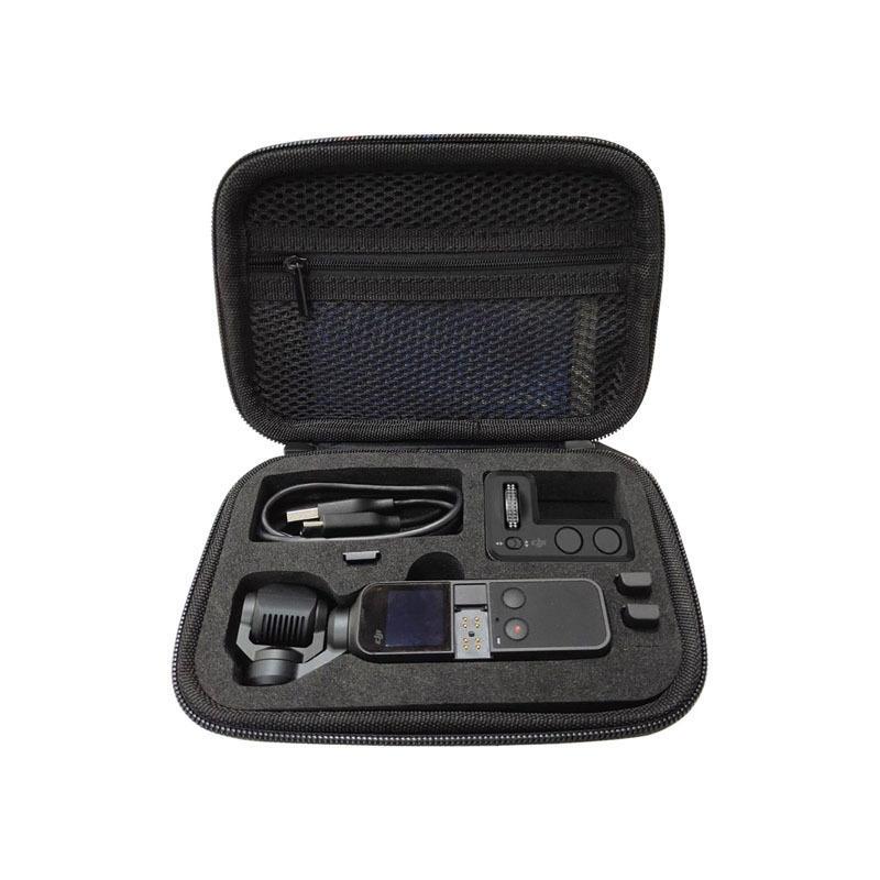 Cartouche de rangement pour nacelle avec étui de transport pour sac à fermeture à glissière Shell pour DJI Accessoires de poche OSMO