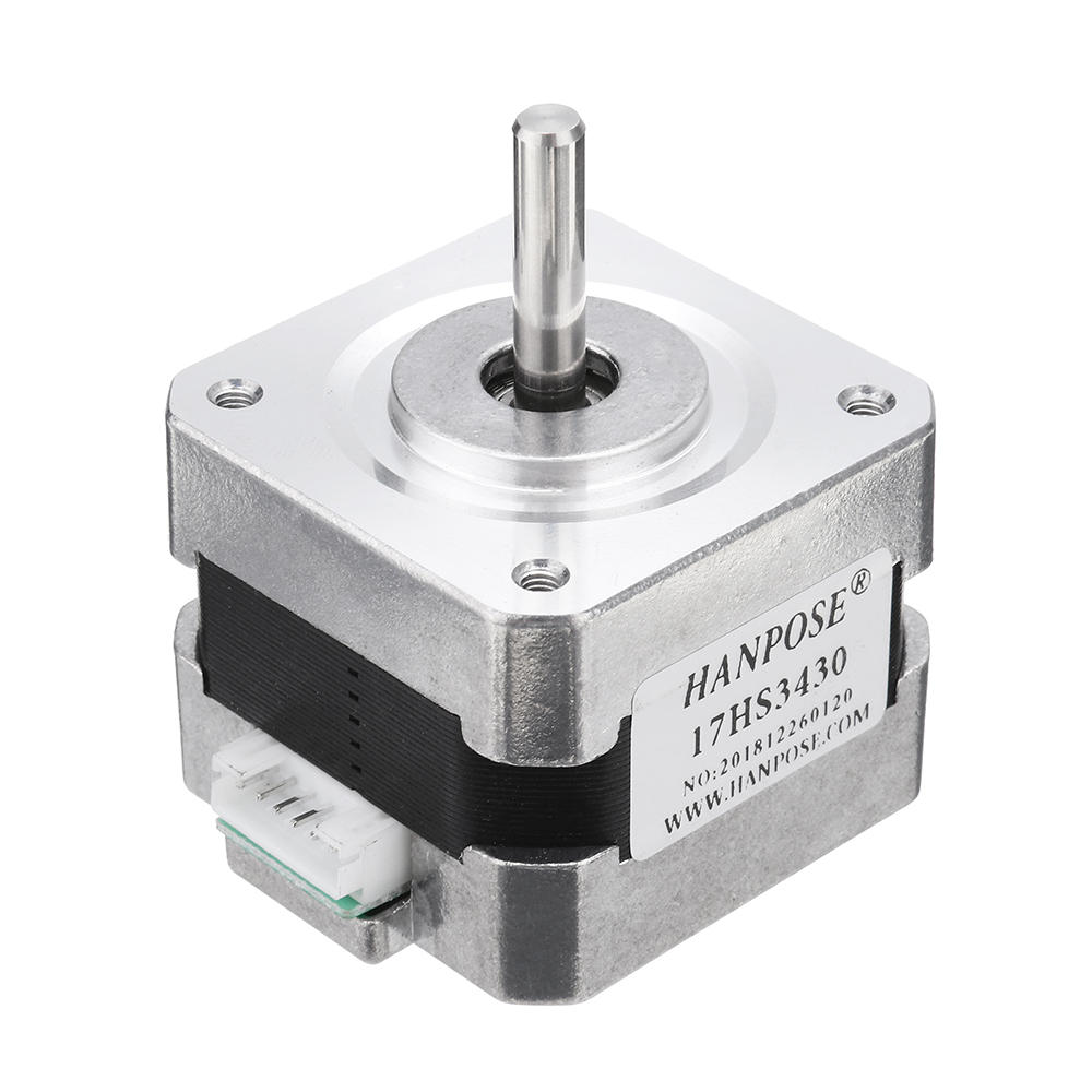 HANPOSE 17HS3430 34mm Nema 17 Stepper Motor 42 Motor 42BYGH 04A 28Ncm 4lead For CNC 3D printer
