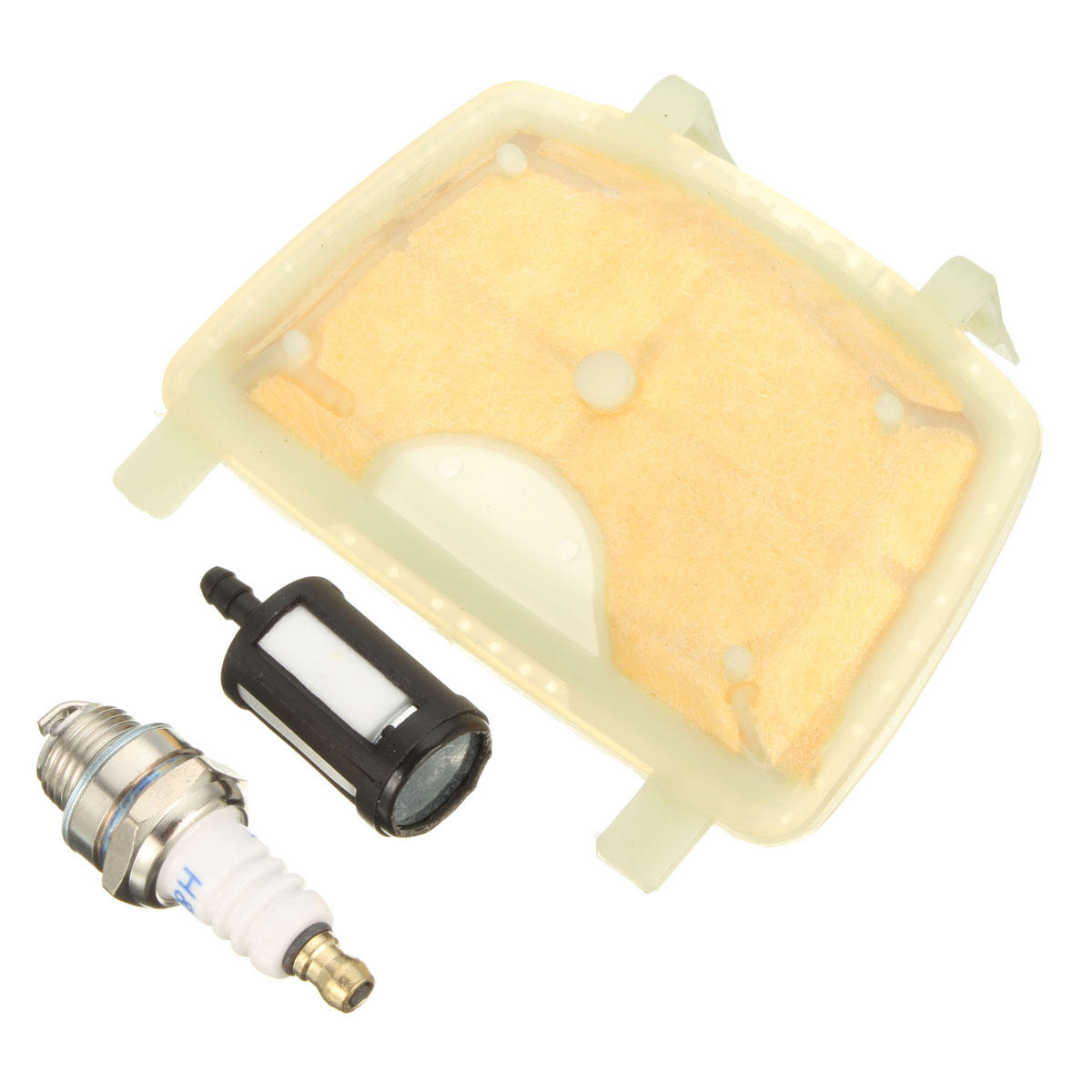 Air Fuel Filter Spark Plug Kit For STIHL MS171 MS181 MS211 Chain Saw