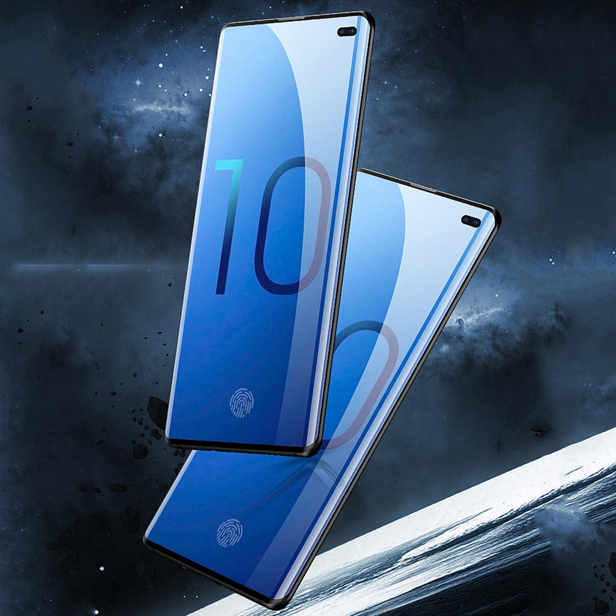 3D Curved Edge Tempered Glass Screen Protector For Samsung Galaxy S10/S10 Plus