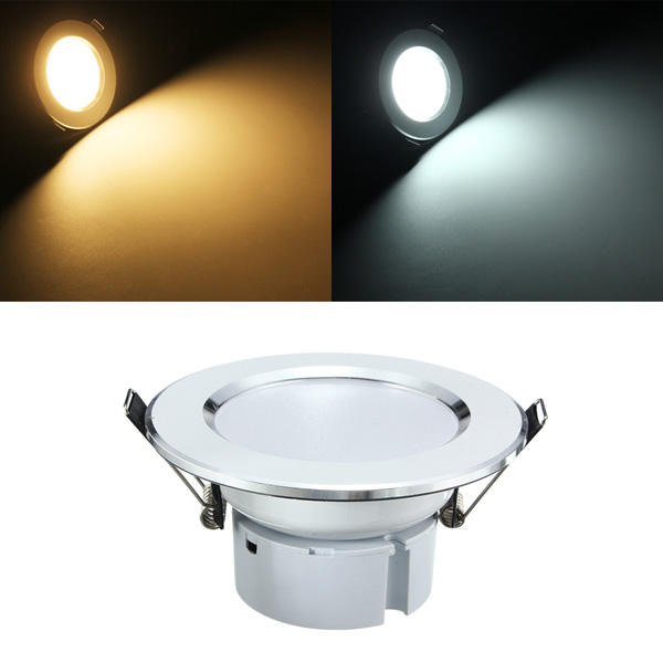 5W LED Panel Recessed Lighting Ceiling Down Lamp Bulb Fixture AC 85-265V