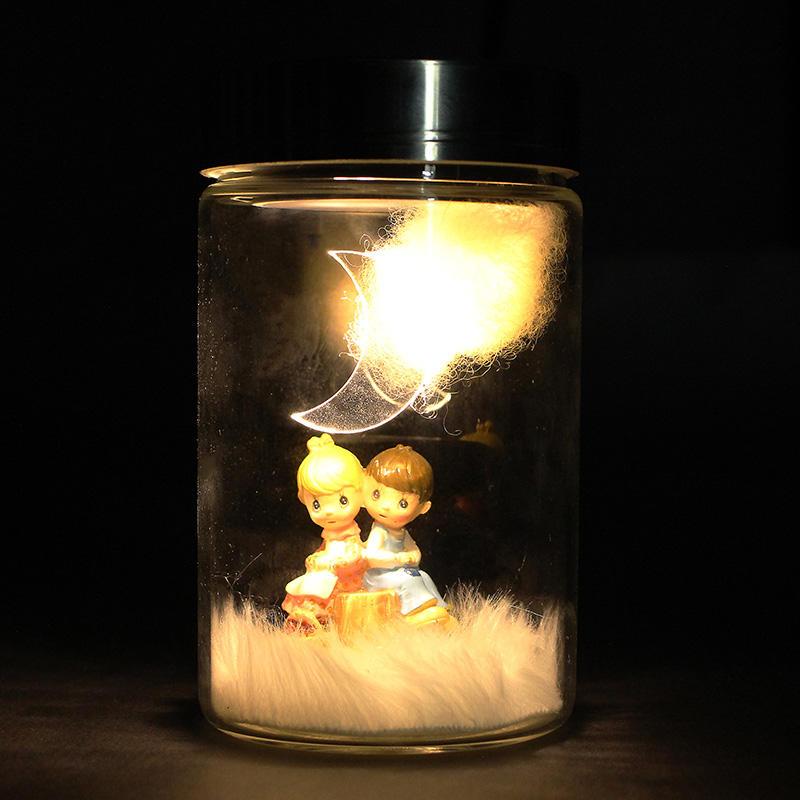 Saint Valentin, énergie solaire, charge, pot, découappoutn, cadeau, jouet