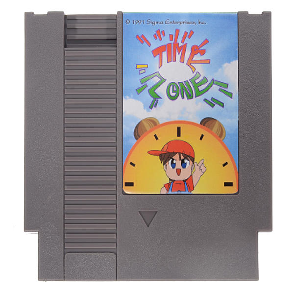 Time Zone 72 Pin 8 Bit Game Card Cartridge for NES Nintendo