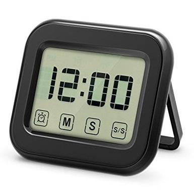 Portable Digital Kitchen Cooking Timer Count Down Up Timer Loud Alarm With Lcd Display Screen green High Quality