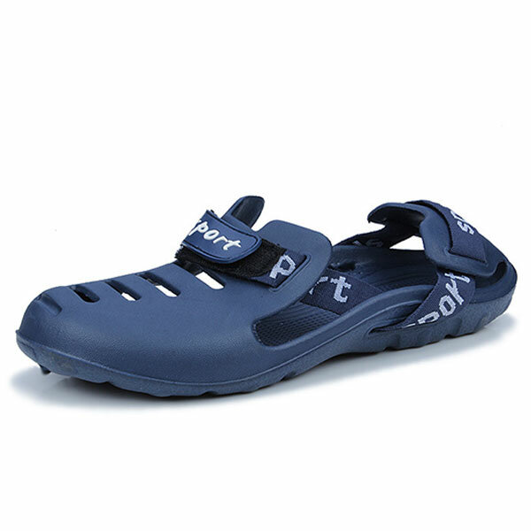 4d9d46a445ab94 men outdoor beach elastic waterproof sandal shoes at Banggood