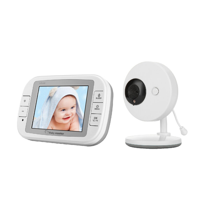 95be7055f1970 Vvcare-851 3.5 Inch 2.4GHz Wireless Baby Monitor TFT LCD Video Night Vision  2-way Audio Infant Baby Intercom Camera Digital Video Babysitter COD