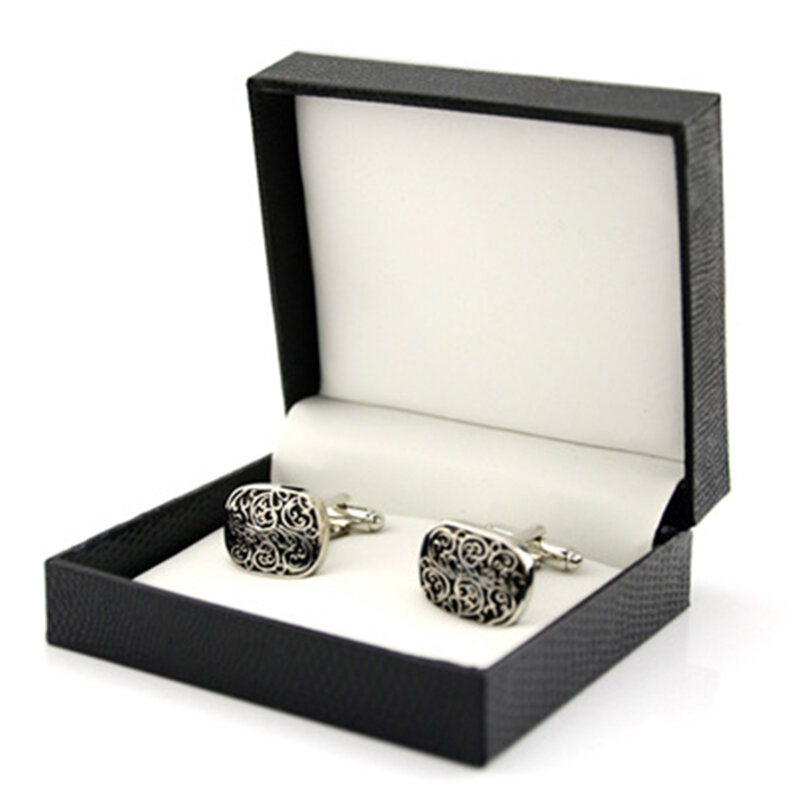 Mens Vintage Totem French Shirt Cufflinks Sleeve Pattern Cuff Button Not Include Case