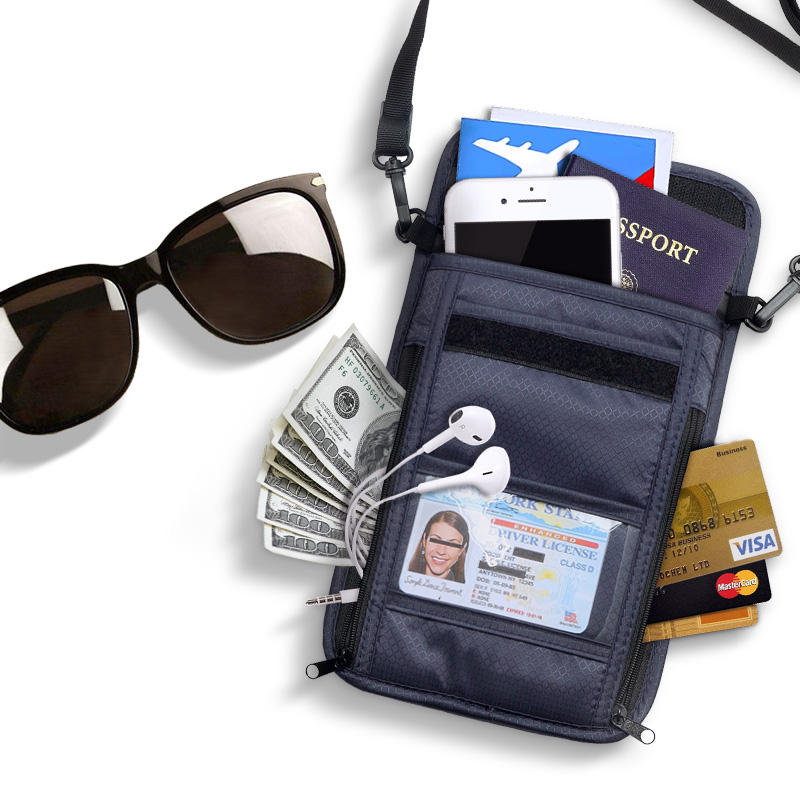 Card & Id Holders Usa Oil Portable Magnet Buckle Passport Cover Travel Passport Holder Built In Rfid Blocking Protect Personal Information Back To Search Resultsluggage & Bags