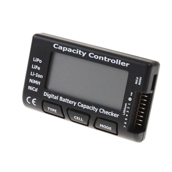 CellMeter-7 Battery Capacity Checker Tester LiPo LiFe Li-ion NiMH NiCd